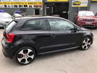 USED 2012 62 VOLKSWAGEN POLO 1.4 GTI DSG 3d AUTO 177 BHP IN METALLIC BLACK WITH TARTEN SEATS A FULL SERVICE HISTORY AND ONLY 35,000 MILES! APPROVED CAR AND FINANCE ARE PLEASED TO OFFER THIS VOLKSWAGEN POLO 1,4 GTI DSG 3 DOOR AUTOMATIC 177 BHP IN METALLIC BLACK WITH TARTAN SEATS AND A FULL SERVICE HISTORY AND ONLY 35,000 MILES. THIS VEHICLE HAS GOT A GREAT SPEC SUCH AS BLUETOOTH, FLAT BOTTOM STEERING WHEEL, TARTAN SEAT (LIKE TO ORIGINAL GTI) AIR CON, BLUETOOTH, AUX , ELECTRIC WINDOWS AND MUCH MORE. THIS IS A PERFECT HOT HATCH AND DRIVES SUPERB, ALSO IN A IMMACULATE CONDITION THROUGHOUT NOT A VEHICLE TO BE MISSED.