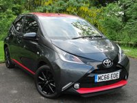 USED 2017 66 TOYOTA AYGO 1.0 VVT-I X-PRESS 5d  * 1 OWNER FROM NEW * 128 POINT AA INSPECTED *LOW MILEAGE CAR *