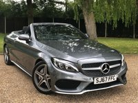 USED 2017 67 MERCEDES-BENZ C CLASS 2.1 C 250 D AMG LINE 2d AUTO 201 BHP ABSOLUTELY STUNNING CAR SAT NAV LEATHER