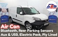 2016 FIAT DOBLO 1.3 16V SX MULTIJET 90 bhp with Air Conditioning, Bluetooth, Rear Parking Sensors, Electric Pack and more £5980.00