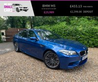 USED 2013 63 BMW M5 4.4 M5 4d AUTO 553 BHP HEAD UP DISPLAY FACTORY SUNROOF HARMON KARDEN SOFT CLOSE DOORS FBMSH