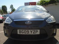 USED 2009 09 FORD C-MAX 1.6 ZETEC 5d 100 BHP GUARANTEED TO BEAT ANY 'WE BUY ANY CAR' VALUATION ON YOUR PART EXCHANGE