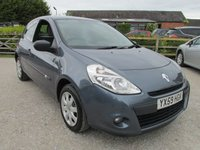 USED 2009 59 RENAULT CLIO 1.1 EXTREME 3d 74 BHP LOW MILEAGE FULL SERVICE HISTORY
