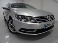 USED 2014 64 VOLKSWAGEN CC 2.0 TDI BLUEMOTION TECHNOLOGY DSG 4d AUTO 138 BHP