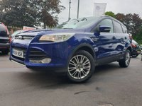 USED 2014 64 FORD KUGA 2.0 TITANIUM TDCI 2WD 5d 138 BHP PRIVGLAAS+CLIMATE+PARKING+
