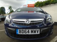 USED 2014 64 VAUXHALL CORSA 1.0 S ECOFLEX 3d 64 BHP GUARANTEED TO BEAT ANY 'WE BUY ANY CAR' VALUATION ON YOUR PART EXCHANGE