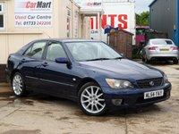 2004 LEXUS IS 2.0 200 SE 4d 153 BHP £1290.00