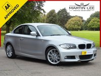 USED 2010 BMW 1 SERIES 2.0 118D M SPORT 2d 141 BHP STUNNING 2 DOOR COUPE WITH FULL BMW SERVICE HISTORY