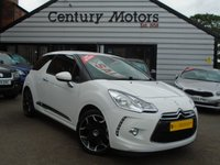 2013 CITROEN DS3 1.6 DSTYLE PLUS 3d + ALLOYS £4290.00