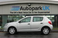 USED 2015 15 DACIA SANDERO 1.5 AMBIANCE DCI 5d 90 BHP LOW DEPOSIT OR NO DEPOSIT FINANCE AVAILABLE