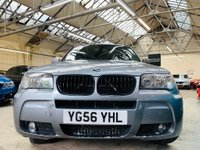 USED 2006 56 BMW X3 3.0 30sd M Sport 5dr MARCH 2020 MOT GOOD VALUE