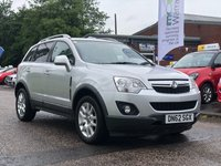 USED 2012 62 VAUXHALL ANTARA 2.2 EXCLUSIV CDTI 4WD S/S 5d 161 BHP GREAT EXAMPLE OF 4X4 *  HALF LEATHER TRIM *  CRUISE CONTROL *  SERVICE RECORD +