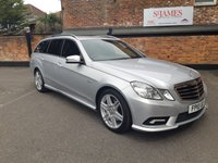 USED 2010 10 MERCEDES-BENZ E CLASS E250 CGI Blue Efficiency SPORT 5d AUTO 204 BHP