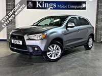 USED 2011 11 MITSUBISHI ASX 1.6 3 5dr  Bluetooth, Park Assist, Great value, Drive Away SAME DAY !!