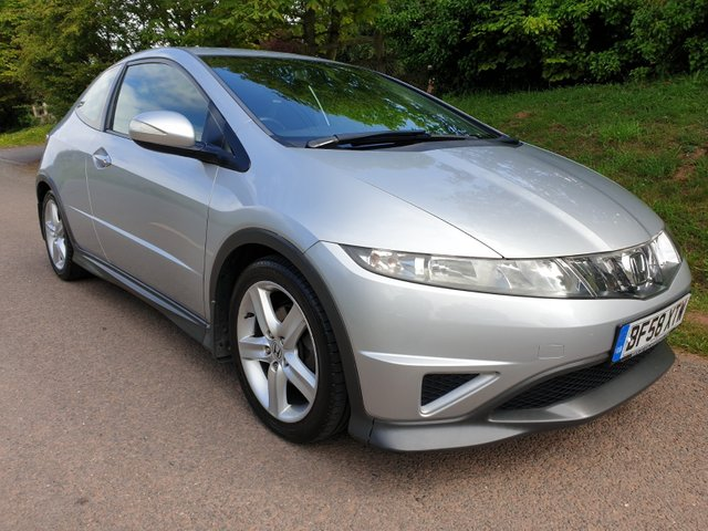 USED 2008 58 HONDA CIVIC 1.8 I-VTEC TYPE-S 3d 139 BHP ** MOT ** 1 OWNER ** FULL HISTORY ** SUPERB DRIVE **