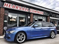 USED 2013 62 BMW 3 SERIES 2.0 320D M SPORT TOURING 5d 181 BHP
