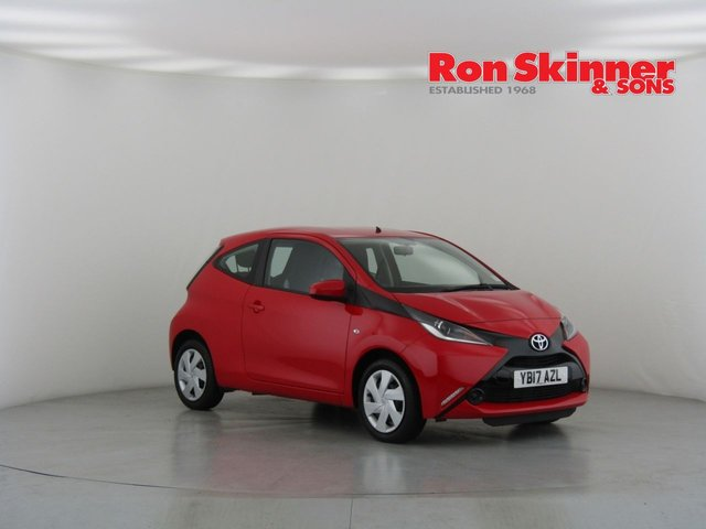 View our 2017 17 TOYOTA AYGO 1.0 VVT-I X-PLAY 3d 69 BHP