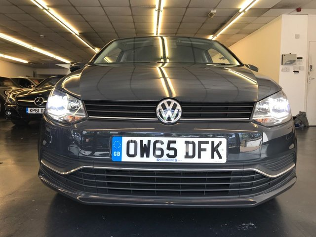 USED 2016 65 VOLKSWAGEN POLO 1.2 SE TSI 3d 89 BHP XENON HEADLIGHTS, BLUETOOTH PHONE AND AUDIO