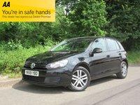 2010 VOLKSWAGEN GOLF 1.6 SE TDI 5d 103 BHP £4695.00