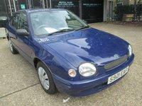 1999 TOYOTA COROLLA 1.6 GS 5d 105 BHP £499.00