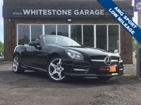 USED 2014 14 MERCEDES-BENZ SLK 2.1 SLK250 CDI BLUEEFFICIENCY AMG SPORT 2d AUTO 204 BHP AMG SPORT, LOW MILEAGE, FSH