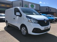 USED 2016 16 RENAULT TRAFIC 1.6 SL27 SPORT ENERGY DCI S/R P/V 1d 140 BHP TOP SPEC, ULEZ COMPLIANT, RENAULT WARRANTY & FINANCE ARRANGED. Full Service History, Remaining Renault warranty until 2020, 45,000 Miles, SAT NAV, A/C, E/W, Bluetooth, Alloys, media connectivity, cruise control, touchscreen DAB Radio, rear parking camera & sensors, colour coded, Drivers airbag, factory fitted bulk head, Side loading door, Very Good Condition, 1 Owner, remote Central Locking, Drivers Airbag, Steering Column Radio Control, Side Loading Door, spare key & finance arranged