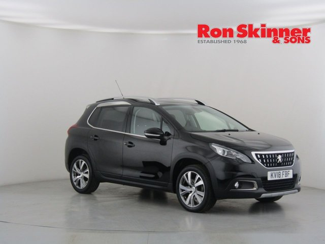 View our 2018 18 PEUGEOT 2008 1.2 PURETECH S/S ALLURE 5d 130 BHP
