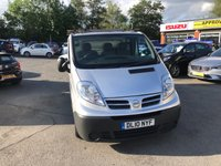 USED 2010 10 NISSAN PRIMASTAR 2.0 SE SWB DCI SHR 1d 115 BHP WITH A VERY LOW MILEAGE IN GOOD CONDITION THAT IS READY FOR WORK.NO VAT NO VAT. APPROVED CARS ARE PLEASED TO OFFER THIS NISSAN PRIMASTAR 2.0 SE SWB DCI SHR 2 DOOR 115 BHP WITH A VERY LOW MILEAGE IN GREAT CONDITION IN SILVER METALLIC WITH A GOOD SERVICE HISTORY A RELIABLE VAN WITH SIDE LOADING DOOR THAT IS READY FOR WORK.