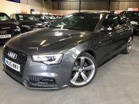 2015 AUDI A5 2.0 TDI QUATTRO BLACK EDITION PLUS 2d 175 BHP £14690.00