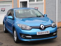 """USED 2014 64 RENAULT MEGANE 1.5 DYNAMIQUE TOMTOM ENERGY DCI S/S 5d 110 BHP 16""""Alloys, 1/2 Leather, Bluetooth, Front and Rear Parking Sensors"""