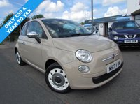 USED 2013 13 FIAT 500 1.2L COLOUR THERAPY 3d 69 BHP