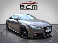 USED 2012 12 AUDI TT 2.0 TFSI BLACK EDITION 2d 208 BHP