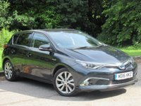 USED 2016 16 TOYOTA AURIS 1.8 VVT-I EXCEL 5d AUTO 99 BHP FULL HEATED LEATHER, SAT NAV
