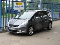 USED 2012 62 HONDA JAZZ 1.3 I-VTEC EX 5d Pan roof Cruise Privacy glass Great Spec including Panoramic Roof