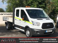 USED 2016 16 FORD TRANSIT 350 2.2 125 BHP DCB  TIPPER ALLOY BODY