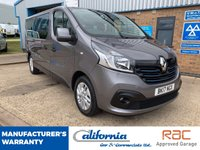 USED 2017 17 RENAULT TRAFIC 1.6 LL29 SPORT ENERGY DCI 5d 125 BHP LOW MILES, CLEAN & TIDY 9 SEATER!
