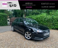 USED 2016 66 AUDI A1 1.0 SPORTBACK TFSI SPORT 5d 93 BHP 2 OWNERS LOW MILES SERVICE HISTORY  LEATHER WHEEL DAB BLUETOOTH