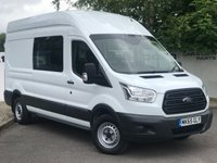 USED 2015 65 FORD TRANSIT 350 RWD 2.2 125 BHP L3 5 SEATER MESS UNIT**OVER 85 VANS IN STOCK**