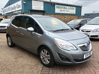 USED 2011 11 VAUXHALL MERIVA 1.4 SE 5d 98 BHP JUST ARRIVED AWAITING PHOTOS AND VIDEO AND WAITING TO BE CLEANED NEED ANYMORE INFORMATION PLEASE GIVE US A CALL ON 01536 402161