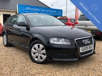 USED 2009 09 AUDI A3 1.9 TDI E 5d 103 BHP 1 Lady Owner from new with FSH
