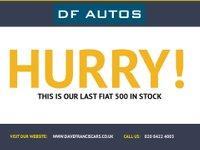 USED 2009 09 FIAT 500 1.4 LOUNGE 3d 99 BHP