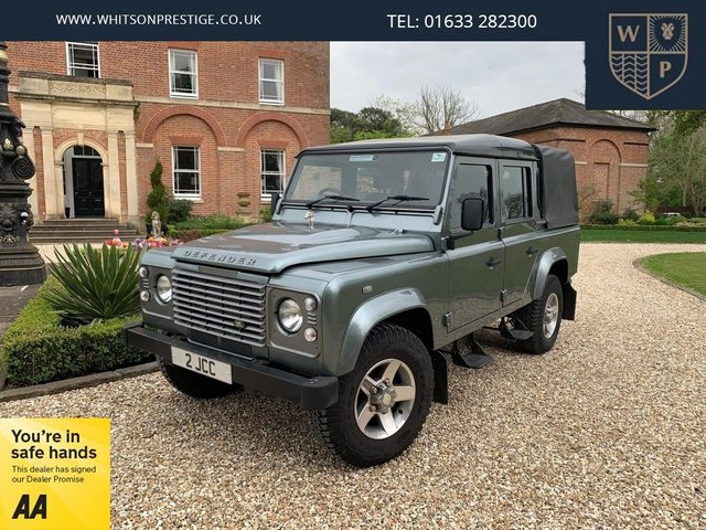 2015 LAND ROVER DEFENDER 110 2.2 TD COUNTY DCB 4d 122 BHP