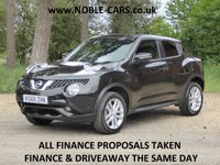 2016 NISSAN JUKE 1.6 N-CONNECTA XTRONIC 5d AUTO 117 BHP £SOLD