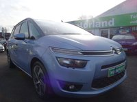 USED 2013 63 CITROEN C4 GRAND PICASSO 2.0 BLUEHDI EXCLUSIVE PLUS 5d 148 BHP **7 SEATER DIESEL JUST ARRIVED**01543 877320**