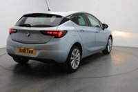 USED 2018 18 VAUXHALL ASTRA 1.4 DESIGN 5d 99 BHP BLUETOOTH- REAR PARKING SENSOR