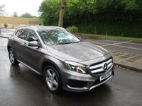 USED 2016 16 MERCEDES-BENZ GLA-CLASS 2.1 GLA 200 D 4MATIC AMG LINE 5d AUTO 134 BHP WAS £18,495 NOW ONLY £17,995 !!
