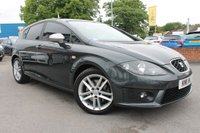 USED 2011 11 SEAT LEON 2.0 FR CR TDI 5d 168 BHP FULL CUPRA SPORT INTERIOR - FRONT BUCKET SEATS - SUPER LOW MILES - MEGA SERVICE HISTORY - GREAT MPG WITH EXCELLENT PERFORMANCE