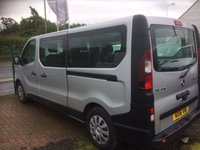 2016 RENAULT TRAFIC 1.6 LL29 BUSINESS ENERGY DCI 5d 125 BHP £14095.00