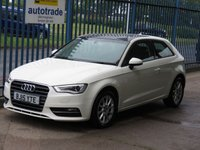 USED 2015 15 AUDI A3 1.6 TDI SE 3d Pan roof Cruise Rear park DAB Finance arranged Part exchange available Open 7 days
