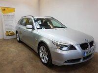 2005 BMW 5 SERIES 2.5 525D SE TOURING 5d AUTO 175 BHP £3490.00
